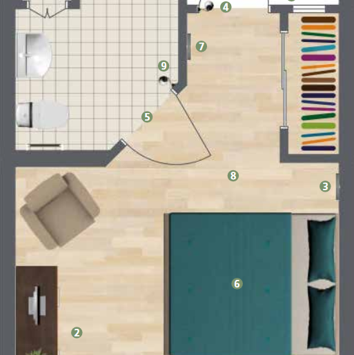 aspen floor plan season florida memory care