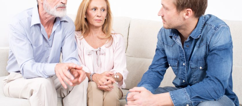 dealing with negative elderly parents